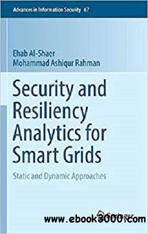 Security and Resiliency Analytics for Smart Grids: Static and Dynamic Approache