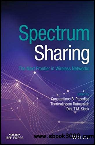 Spectrum Sharing: The Next Frontier in Wireless Networks