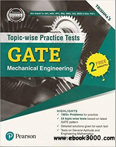 Topic Wise Tests Gate Mechanical Engineering