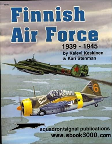 Finnish Air Force 1939-45 - Aircraft Specials series
