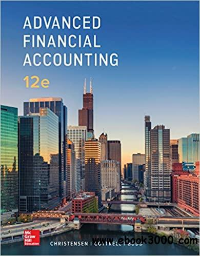 Advanced Financial Accounting 12th Edition