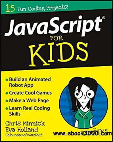 JavaScript For Kids For Dummies (For Dummies
