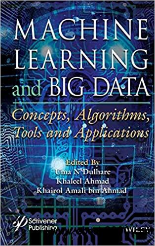 Machine Learning and Big Data: Concepts, Algorithms, Tools and Applications