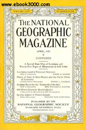 National Geographic April 1930