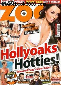 Hollyoaks Hottest & Alice Goodwin. Zoo #10 October 2008 UK